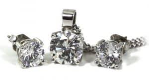 Diamanten Set Schmuck